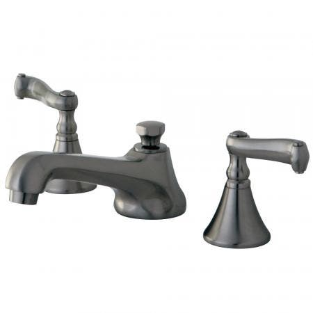 Kingston Brass KB675 TWIN handleS TUB Shower Faucet PRESSURE BALANCED with VOLUME CONTROL, Oil Rubbed Bronze