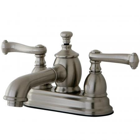 Kingston Brass KS33325AX Kingston Brass KS33325AX 5-Piece Roman Tub Filler with Hand Shower, Polished Brass