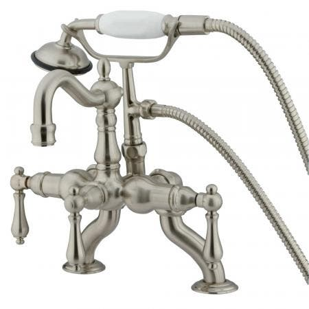 Kingston Brass GSC7575WEL Kingston Brass GSC7575WEL Pull Out Kitchen Faucet with Deck Plate, Oil Rubbed Bronze