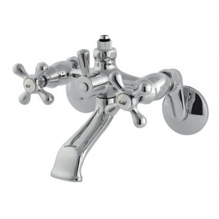 Kingston Brass KB112 8 inch center two handle kitchen faucet with side sprayer