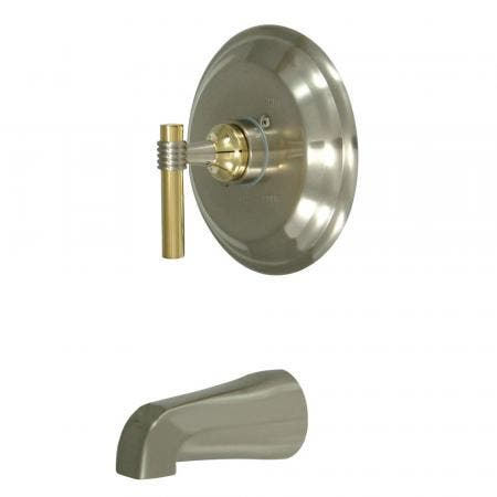 Kingston Brass KS3225PX Kingston Brass KS3225PX Wall Mount Kitchen Faucet with Handle, Oil Rubbed Bronze