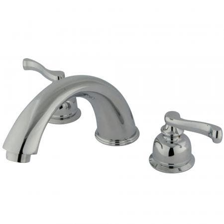 Kingston Brass KS8015DLLS Kingston Brass KS8015DLLS Widespread Kitchen Faucet without Sprayer, Oil Rubbed Bronze