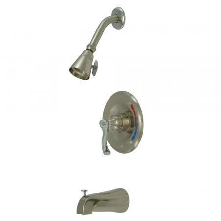 """Kingston Brass KS1432PX DECK MOUNT with 4"""" DECK PLATE bathroom Faucet with PX handle & Brass POP"""