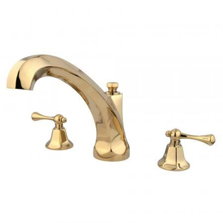 Kingston Brass KB46310QLL Executive Tub & Shower Faucet with Diverter