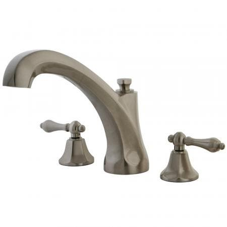 Kingston Brass KB531KL Kingston Brass KB531KL Single Lever Handle Tub and Shower Faucet, Chrome