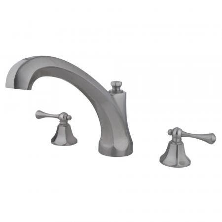 Kingston Brass KB531L Kingston Brass KB531L Tub and Shower Faucet with Single Handle, Chrome