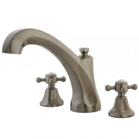 Kingston Brass KB531LP Kingston Brass KB531LP Tub and Shower Faucet with Single Handle, Chrome
