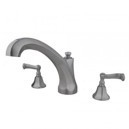 Kingston Brass KB531LSST Tub & Shower with CxC Swept Valve Including Lever Handle without Spout