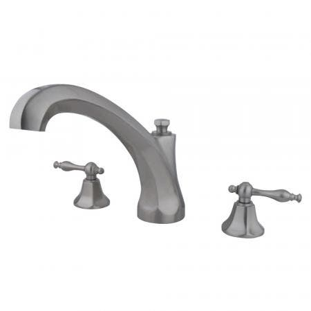 Kingston Brass KB531NML Kingston Brass KB531NML Single Lever Handle Tub and Shower Faucet, Chrome
