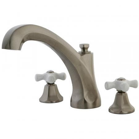 Kingston Brass KB531T Tub & Shower Trim for KB531 with Acrylic Handle