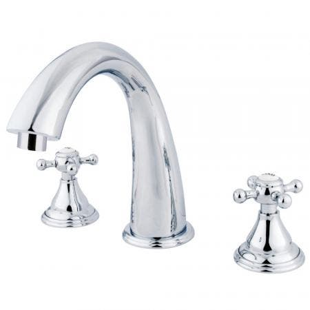 Kingston Brass KB8692ZL TUB and SHOWER Faucet, Polished Brass