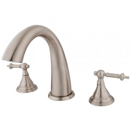 Kingston Brass KS13655AL HERITAGE ROMAN TUB FILLER 5 PIECES with Hand SHOWER
