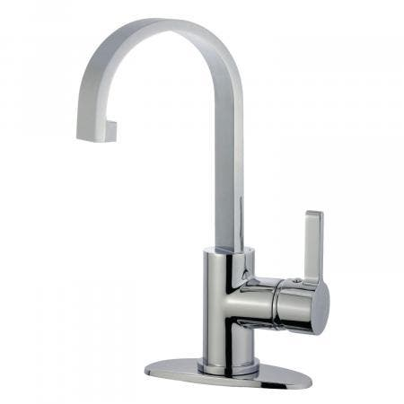 Fauceture LS8211CTL Continental 4-Inch Centerset Two Handle Lavatory Faucet, Polished Chrome
