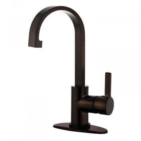 Fauceture LS8215CTL Continental 4-Inch Centerset Two Handle Lavatory Faucet, Oil Rubbed Bronze