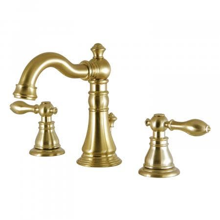 Fauceture FSC1973ACL 8-Inch Widespread Lavatory Faucet, Satin Brass