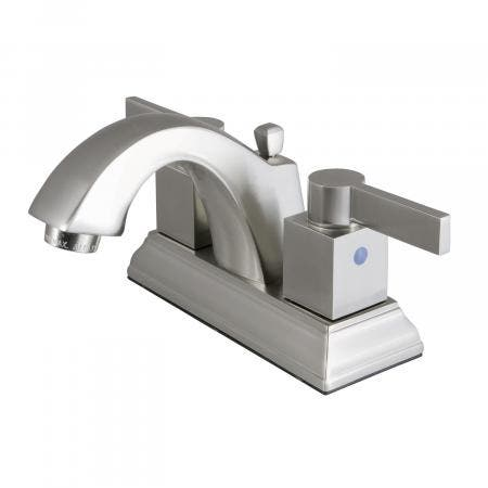 Fauceture FSC4648NQL 4-Inch Centerset Lavatory Faucet, Brushed Nickel