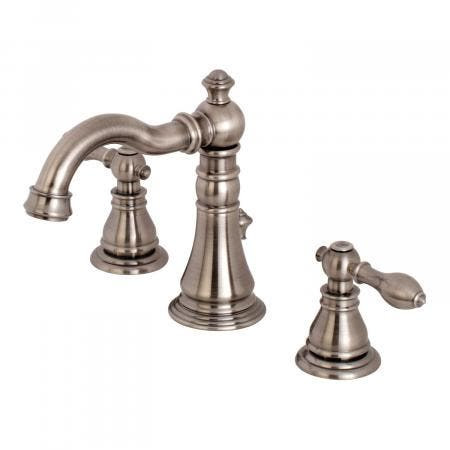 Fauceture FSC1974ACL 8-Inch Widespread Lavatory Faucet, Black Stainless