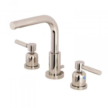 Fauceture FSC8959DL 8-Inch Widespread Lavatory Faucet, Polished Nickel