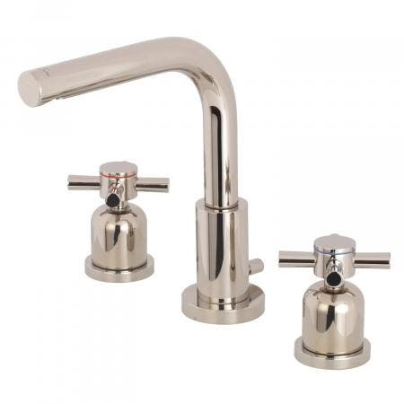 Fauceture FSC8959DX 8-Inch Widespread Lavatory Faucet, Polished Nickel
