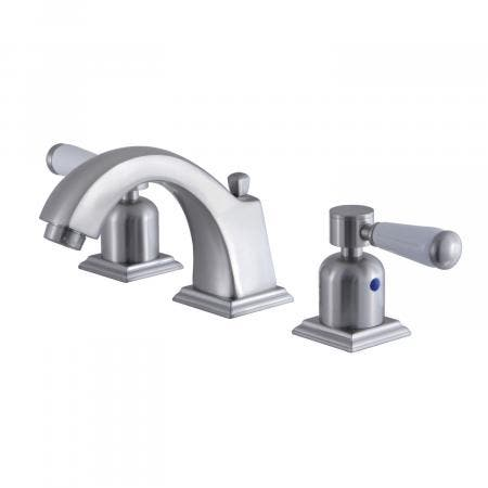 Fauceture FSC4688DPL 8-Inch Widespread Lavatory Faucet with Retail Pop-Up, Brushed Nickel